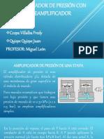 (01) Amplificador de Presión Con Preamplificador
