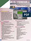 Manual Te809ats Italia