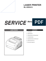Samsung ML-5000A&G Service Manual