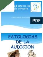 Patologias de La Audicion Final
