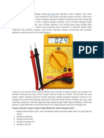 Fungsi Multimeter