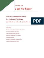 La Nube Del No-Saber[1]