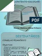 Apresentação no Pedagógico- 3ª tarefa Idalina Ribeiro