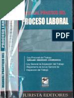 Manual Practico Del Proceso Laboral Jurista Editores Lima Peru