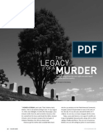 Legacy Of A Murder by Benjamin Greenberg