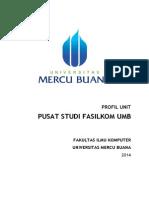 Program Kerja Pusat Studi Fasilkom UMB 2014