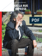 Montreal's action plan on homelessness (FR)