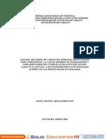 Analisis Del Perfil Cargos Administar Cajas Ahorros