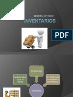 Presentación de INVENTARIOS