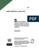 Servicios Publicos Urbanos y Gestion Local en Latinoamerica y El Caribe (27-53)
