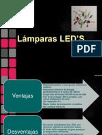 Lámparas LED's