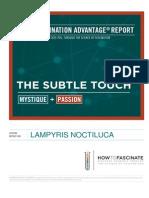 Lampyris Noctiluca Fascination Advantage Report