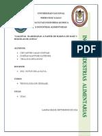 Informe de Galleta.