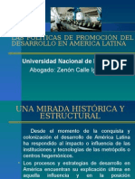 Problemas de Desarrollo en America Latina