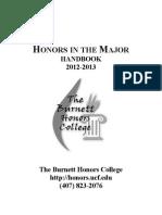 2012-2013 Handbook Spring 2013 Update