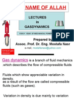 Gas Dynamic lictures