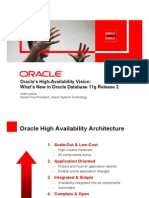 2010 - Oracle's High-Availability Vision - What's New in Oracle Database 11g Release 2