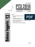 PT3 13 BI Ujian Bertutur NP