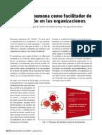 La gestión humana como facilitador de la innovación en las organizaciones