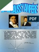 Ley de Gauss y Ampere