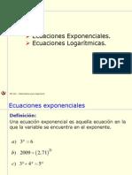 6-1 Ecuaciones Exponenciales y Logarítmicas.pptx