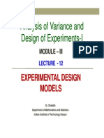 Lecture12 Module3 Anova 1