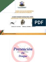 Charla Dengue Comunidad