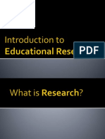 Intro to Research