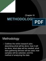 Methodology (for Ccp Techwrite)