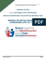 Manual de Instalacion UPS, PC y HUB