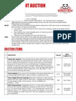 parkview silent auction catalog 2014