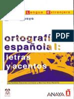 Ortografía 1 y 2 - Anaya - JPR504