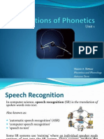 Unit 1 - 03 Applications of Phonetics