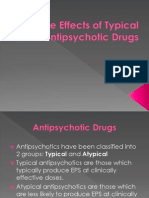 Side Effects of Typical Anti Psychotic Drugs