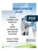 Basics of Room Air Distribution & ADPI 0