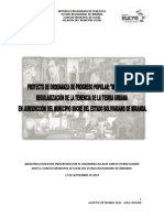 Proyecto de Ordenanza de Titularización Sucre1