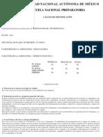 Informatica I UNAM