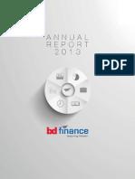 Bdfinance 2013 Annual