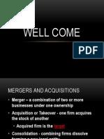 maergers & aquisition