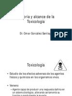 01 Historia y Alcance de La Toxicología