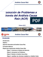 Taller Análisis Causa Raíz _PDVSA