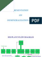 Presentation on DM Plant