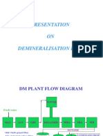 Presentation on DM Plant