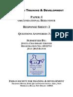 Paper 1 OB Sheet 2