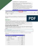 Configuracion Crear Address List