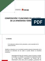 Presentación 1 Capas y Función de La Atmósfera