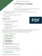 [How-To] Install FTP Server odyn Fedora _ Boubakr Tech