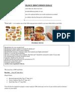 food issue essay