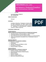 Diplomado - Violencia Familiar y Violencia de Género