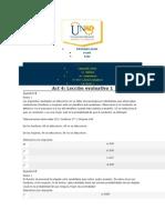 Probabilidad - Unad - Act 4 - Lecc Ev 1